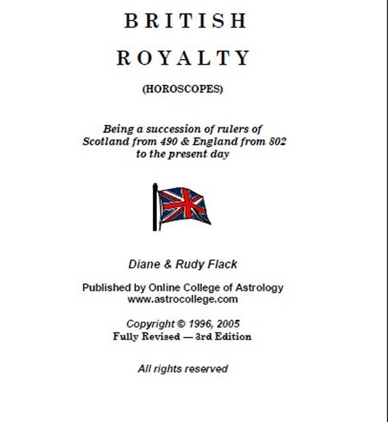 British Royalty