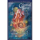 Celestial Tarot: Premier Tarot Edition [With 48-Page Instruction Booklet] by Brian Clark, Kay Steventon