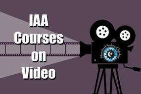 IAA Courses on Video